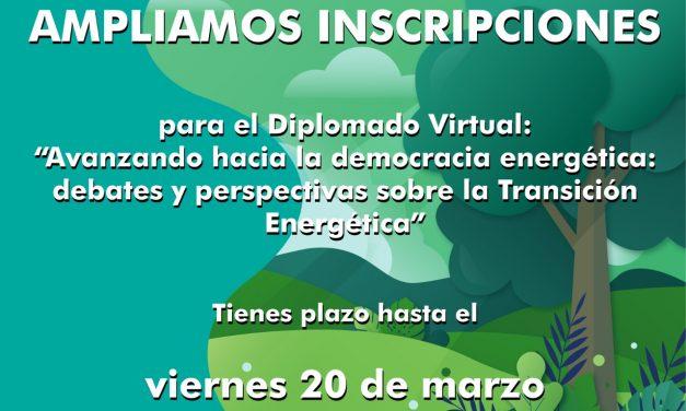 Diplomado Virtual: «Avanzando Hacia la Democracia Energética»