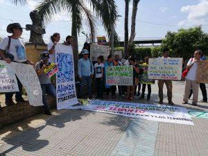 En municipios como San Martín (Cesar) las comunidades viene luchando desde cuatro años para que el fracking no se implemente en esa zona. Foto: archivo/Semana.