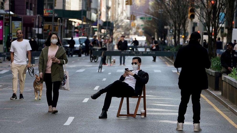 La ciudad de Nueva York rompe récord: 58 días seguidos sin muertes de peatones