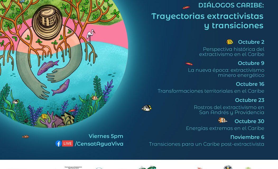 Diálogos Caribe: Trayectorias Extractivistas y Transiciones