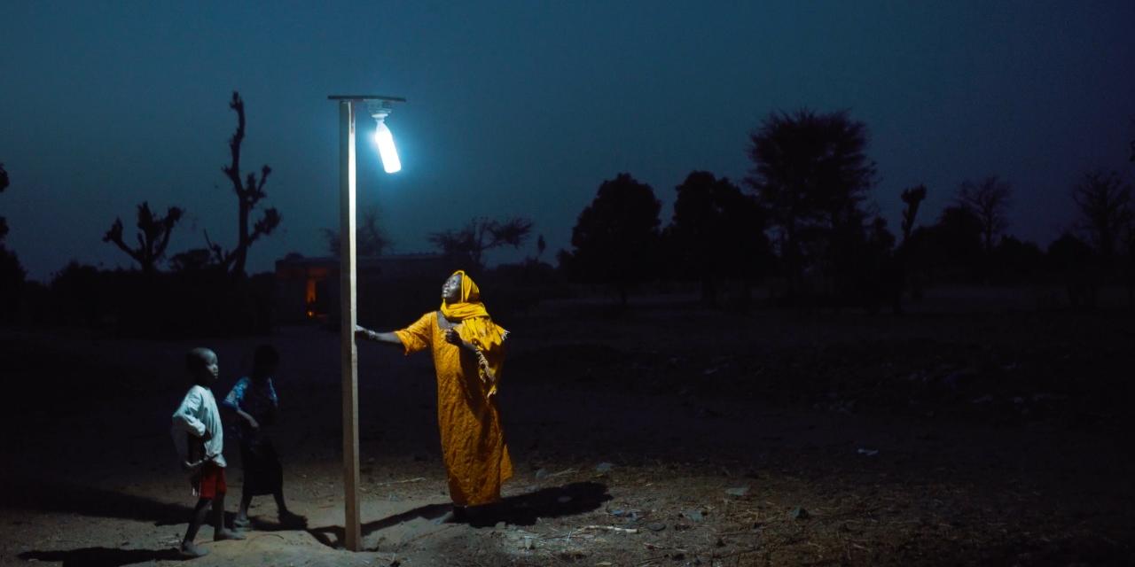 Sistema de alumbrado público comunitario automático con energía solar fotovoltaica para comunidades indígenas de la vereda Puerto Mosquito