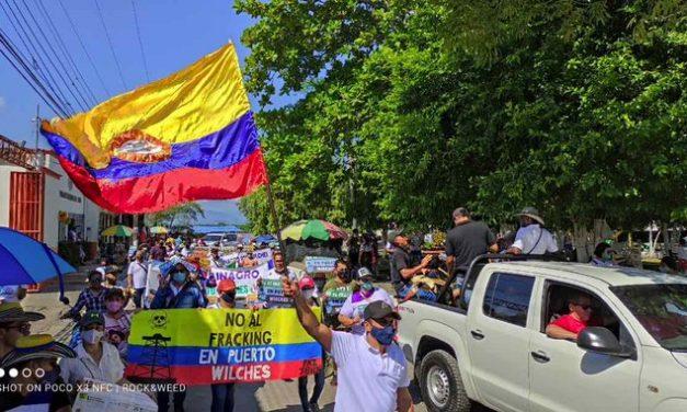 Ante Amenazas a Jóvenes Que Se Oponen Al Fracking En Puerto Wilches, Deben Suspenderse Los Proyectos Piloto | #SOSPuertoWilches